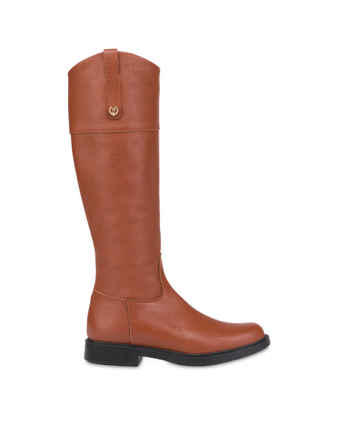 Classic Horse calfskin boots BURNED