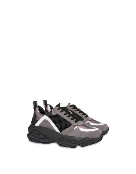 Duo Athletic Sneakers BLACK/FOG/GUN/WHITE/BLACK