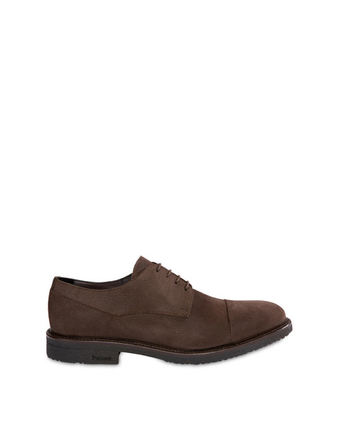 Classic Rubber nubuck derby COFFEE