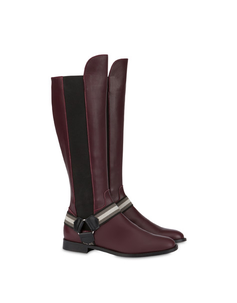 Mountain Horse Riding calfskin boots BRUNELLO/BLACK