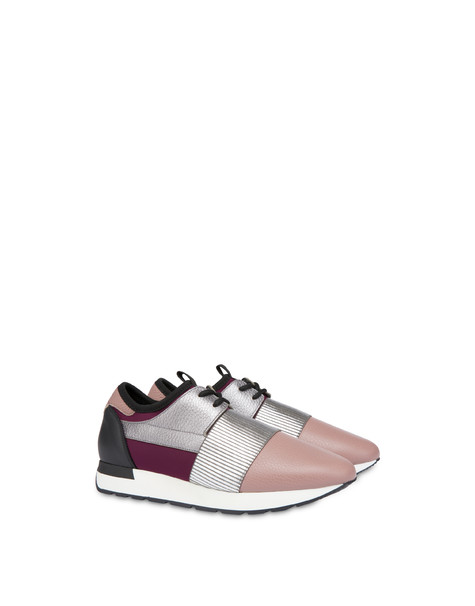 Sneakers slip-on Shiny Elastic Run ANTICO/ACCIAIO/NERO/BRUNELLO
