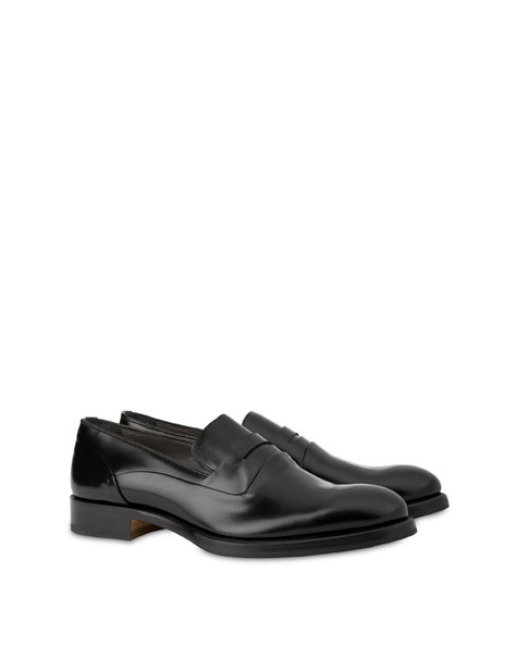 Arco Wave calfskin mocassins BLACK
