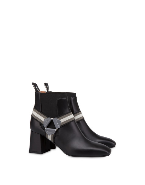 Mountain Horse Riding calfskin ankle boots BLACK/FOG