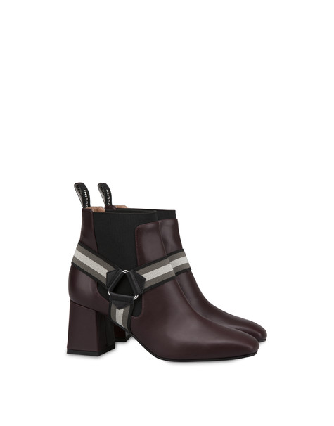 Mountain Horse Riding calfskin ankle boots BRUNELLO/BLACK