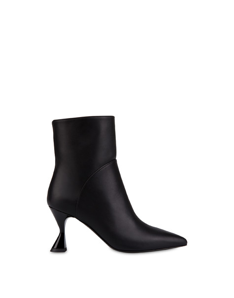 Soft Snowing calfskin ankle boots BLACK