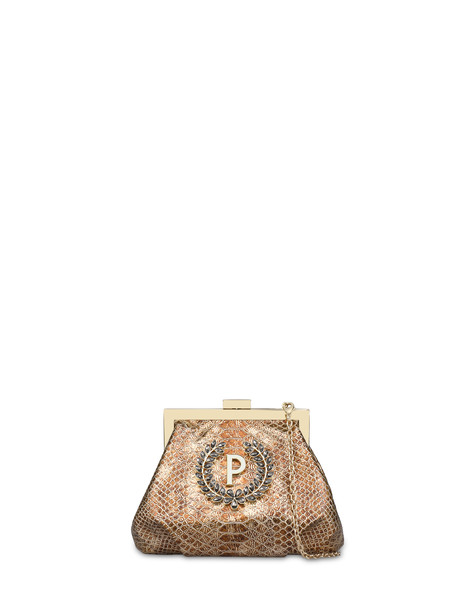 Ice Garden clutch bag GOLD