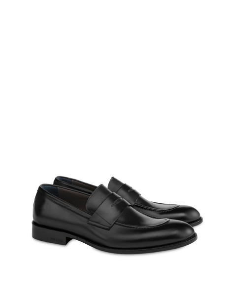 Classic Leather moccasins in calfskin BLACK