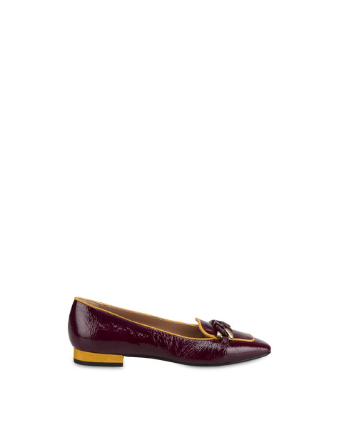 Ballerine in naplak Sunkissed Brunello/ocra