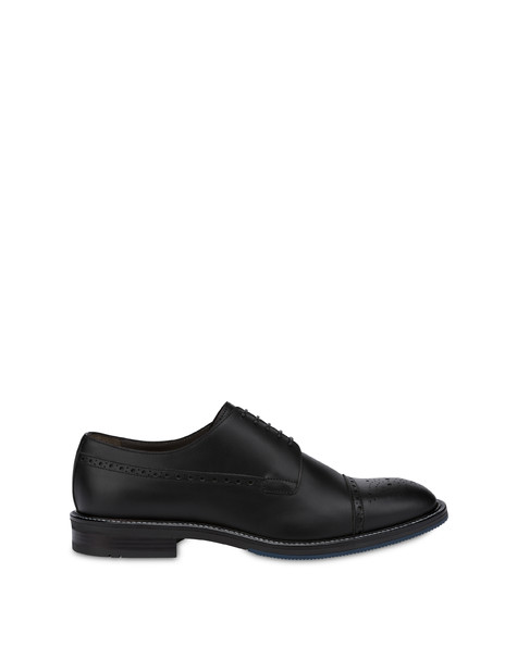 Dandy derby in calfskin BLACK