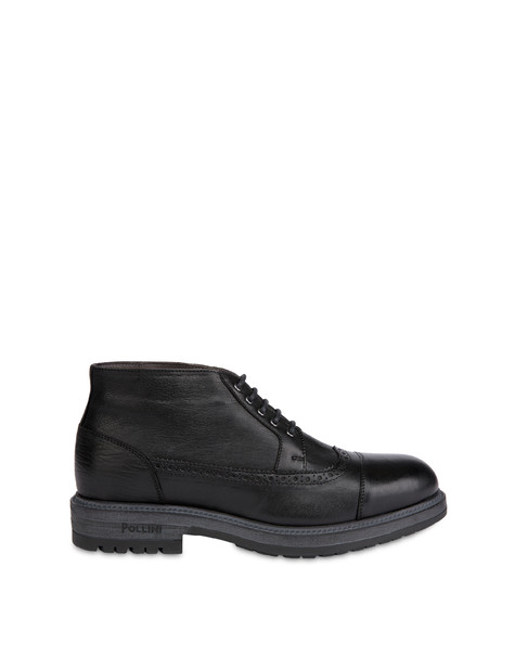 Ankle boots in kidskin BLACK