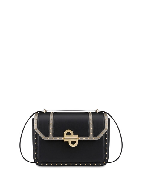 Bella studded shoulder bag BLACK/GUN