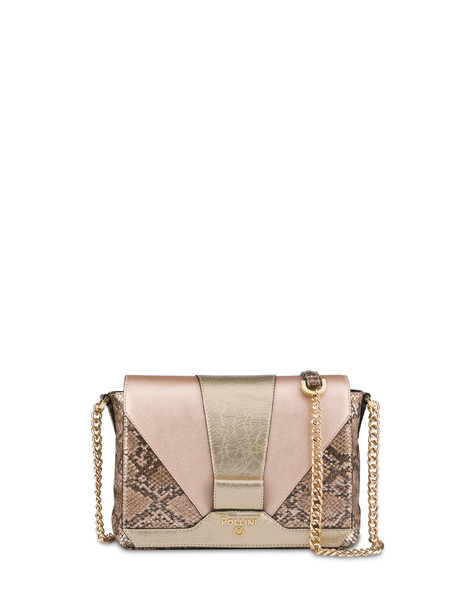 Geneva animalier shoulder bag GOLD/GOLD/COPPER