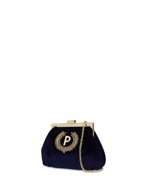 Ice Garden clutch bag BLUE