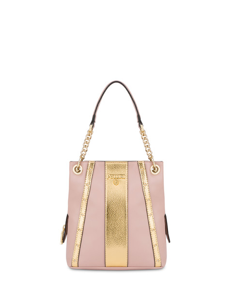 Jenny double handle bag NUDE/GOLD