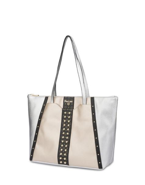 Helena studded tote bag SILVER/BLACK/BLACK/GOLD