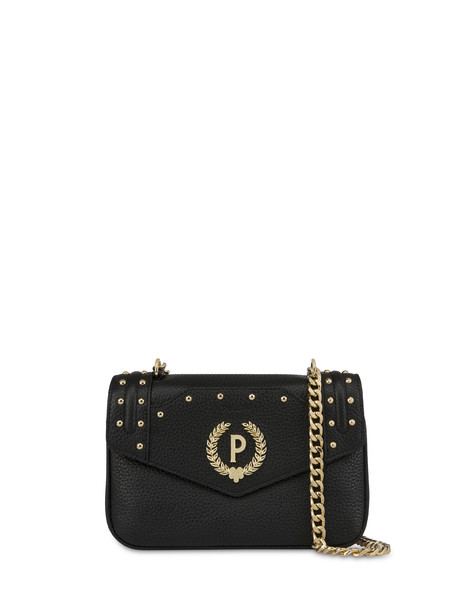 Odette shoulder bag with chain BLACK
