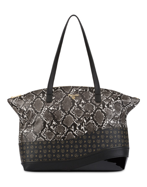 Jane Shoulder Bag BLACK/GREY/BLACK/BLACK