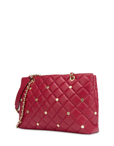 Rock Island matelassé shopping bag RED