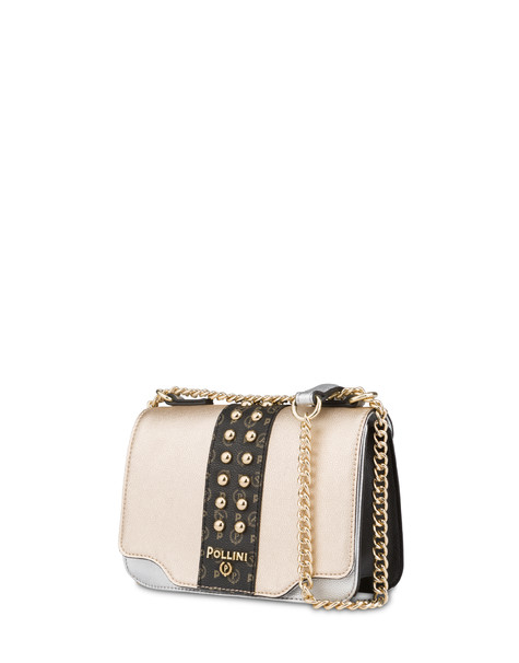 Helena studded shoulder bag SILVER/BLACK/BLACK/GOLD