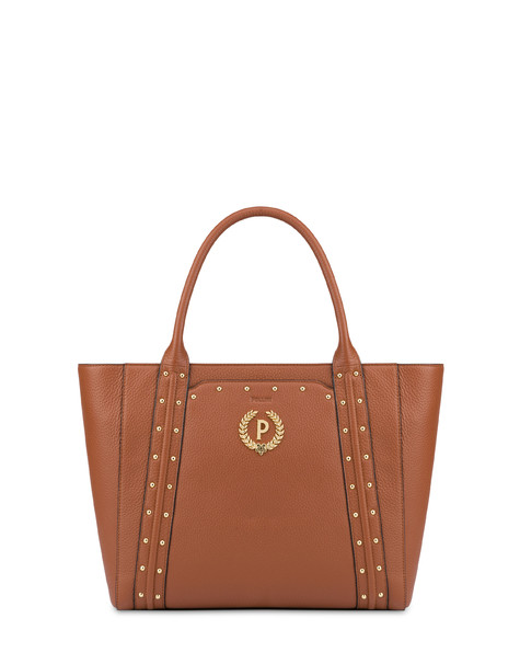 Double handle bag in Odette calfskin HIDE
