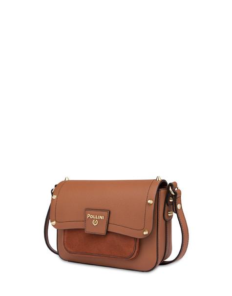 Regina shoulder bag in calfskin HIDE/HIDE