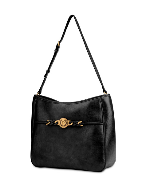 Borsa Hobo cracklè Sunkissed Nero