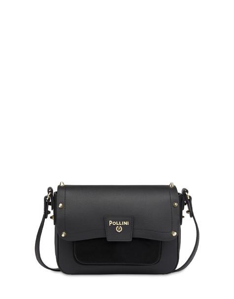 Regina shoulder bag in calfskin BLACK/BLACK