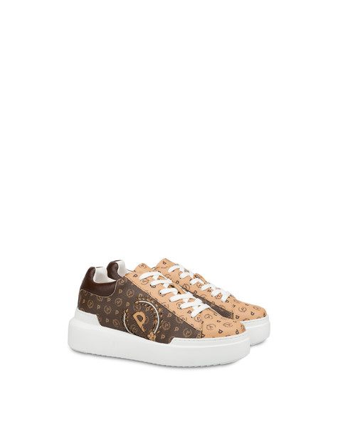 Heritage bicolor sneakers BROWN/CREAM/BROWN