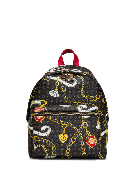 Heritage Preppy Club Backpack BLACK/RED
