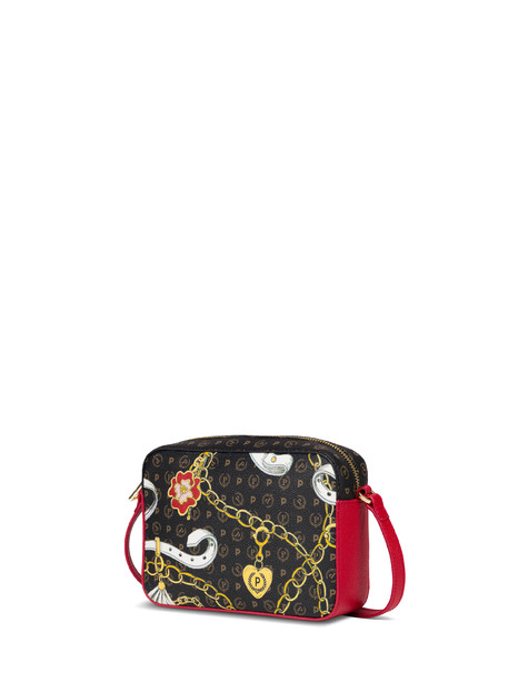 Heritage Preppy Club shoulder bag BLACK/RED
