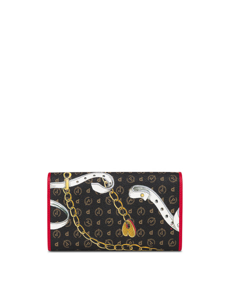 Heritage Preppy Club Wallet BLACK/RED
