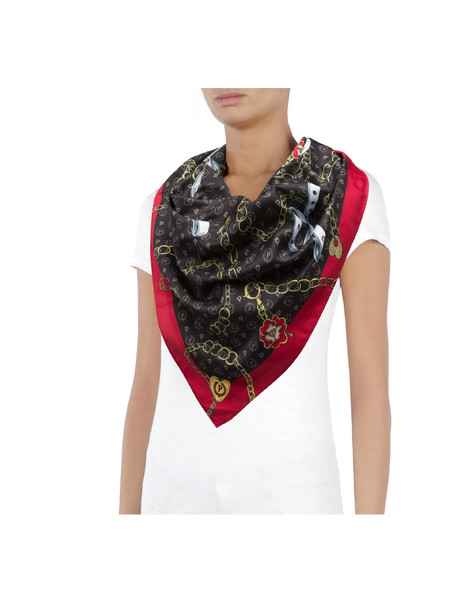 Heritage Preppy Club Foulard BLACK/RED