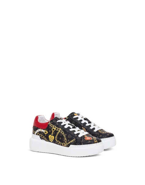 Heritage Preppy Club sneakers BLACK/RED