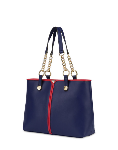 Naxos tote bag BLUE/RED/WHITE