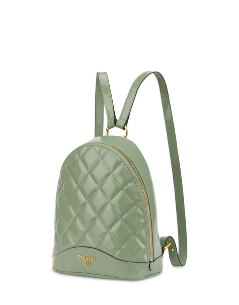 Clio matelassé mini backpack MINT