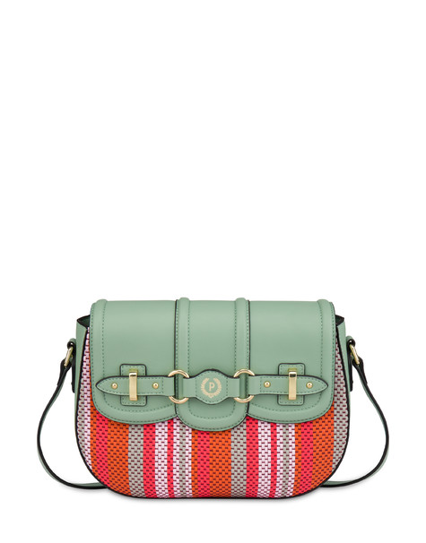 Jackie O' striped shoulder bag MINT/MINT