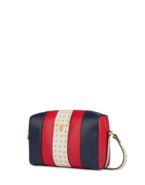 Stripe On Me shoulder bag RED/IVORY/BLUE