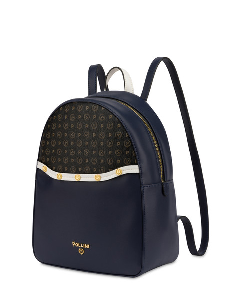 Margarita studded backpack BLUE-WHITE/BLACK