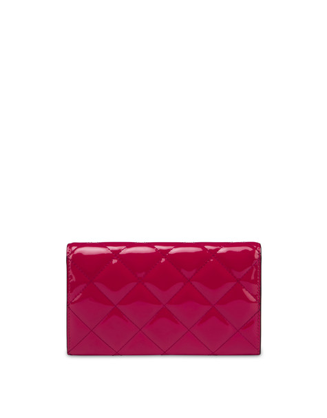 Wallet On Chain quilted wallet FUCHSIA