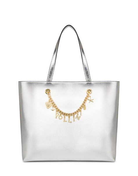 Laminierter Shopper Sea Charms Silber