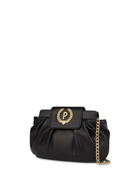 Andromeda soft clutch bag BLACK