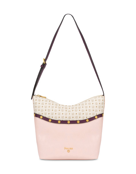 Margarita studded hobo bag NUDE/BORDEAUX/IVORY