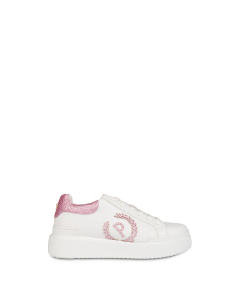 Carrie sneakers with glitter WHITE/QUARTZ