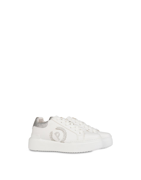 Carrie sneakers with glitter WHITE/SILVER