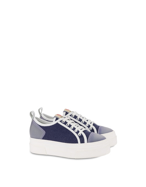 Vela denim sneakers MEDITERRANEAN/WHITE