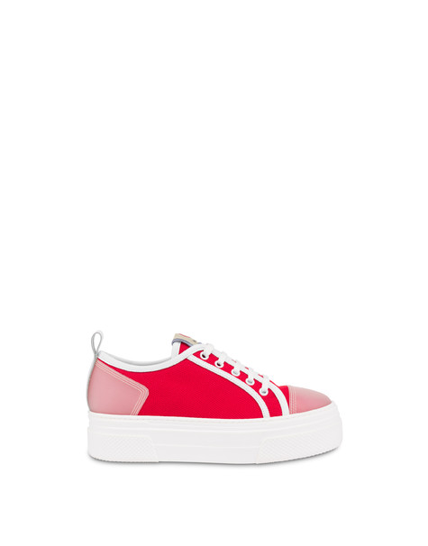 Vela canvas sneakers LAKY RED/WHITE