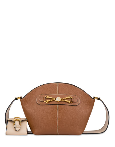 Aris shoulder bag in calfskin HIDE/BEIGE