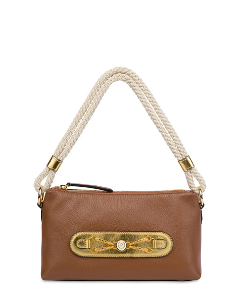 Petra calfskin bag HIDE/GOLD