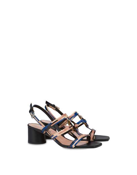 Between The Lines sandals BLACK-AZULEJOS-SAND-POWDER
