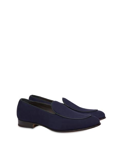 Nubuck and Azulejos calfskin loafers MEDITERRANEAN/MEDITERRANEAN